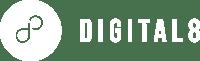 Digital8-White-Logo